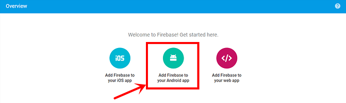 TestAppTwo – Overview – Firebase console