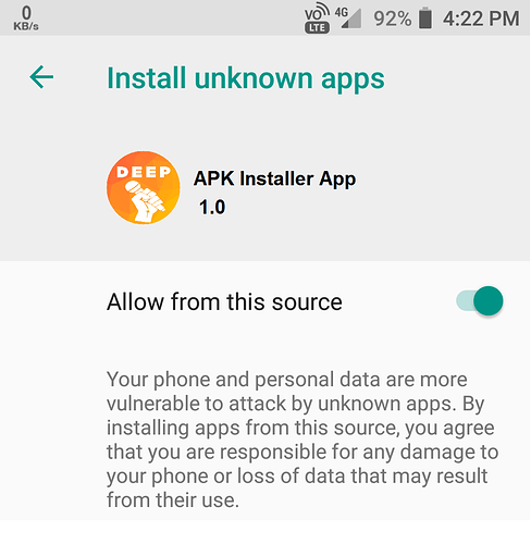 APK Installer | Install Unknown apps | Android Permission